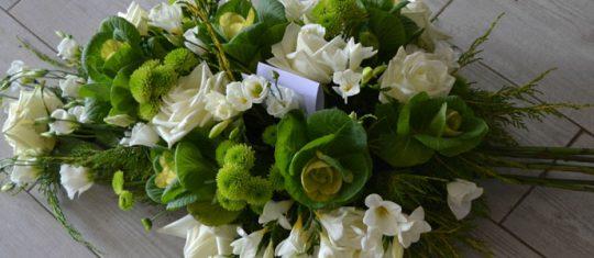 messages envoyer en accompagnement des fleurs de deuil