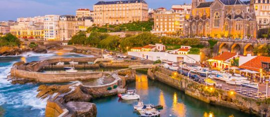 location de vacances à Biarritz