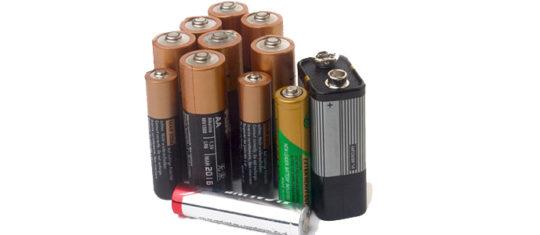 recyclage des piles et des batteries