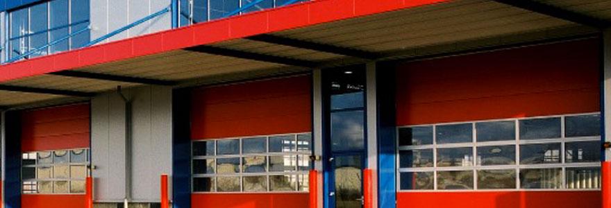 Ouvertures des bâtiments industriels